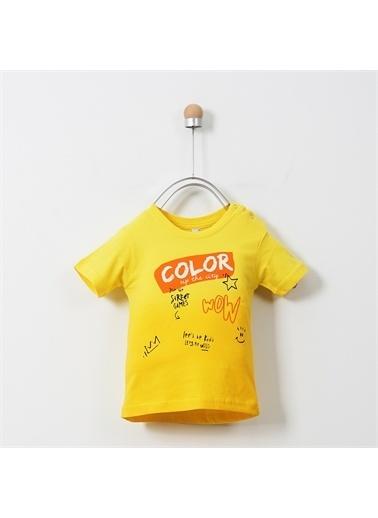 Panço T-Shirt 19117095100 Sarı